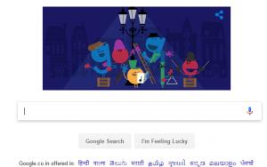 'tis the season google doodle